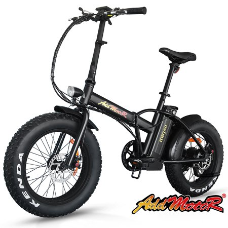 addmotor motan electric bicycle 20 fat tire folding e. Black Bedroom Furniture Sets. Home Design Ideas