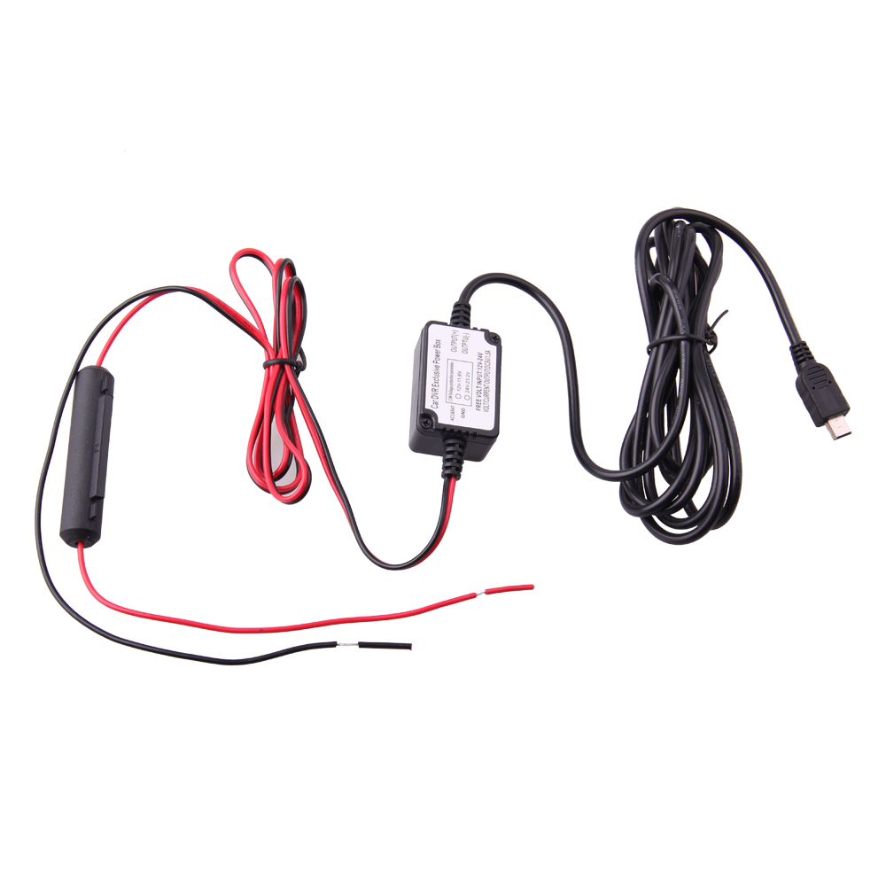 Spy Tec Mini USB Car Dash Cam 10 Foot Hardwire Kit for A119 A119S G1W G1WS