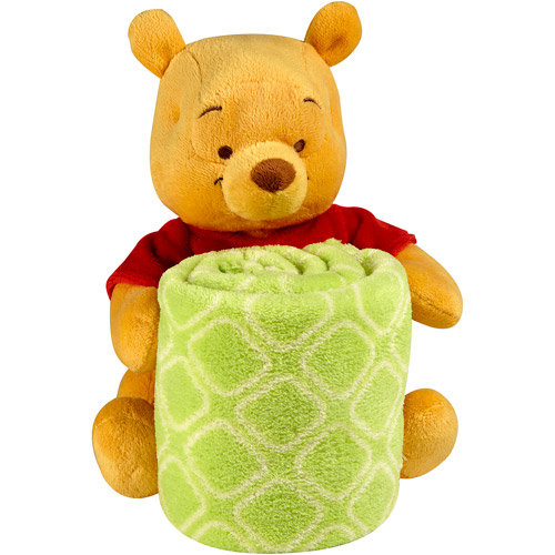 Disney Winnie the Pooh Plush with Blanket