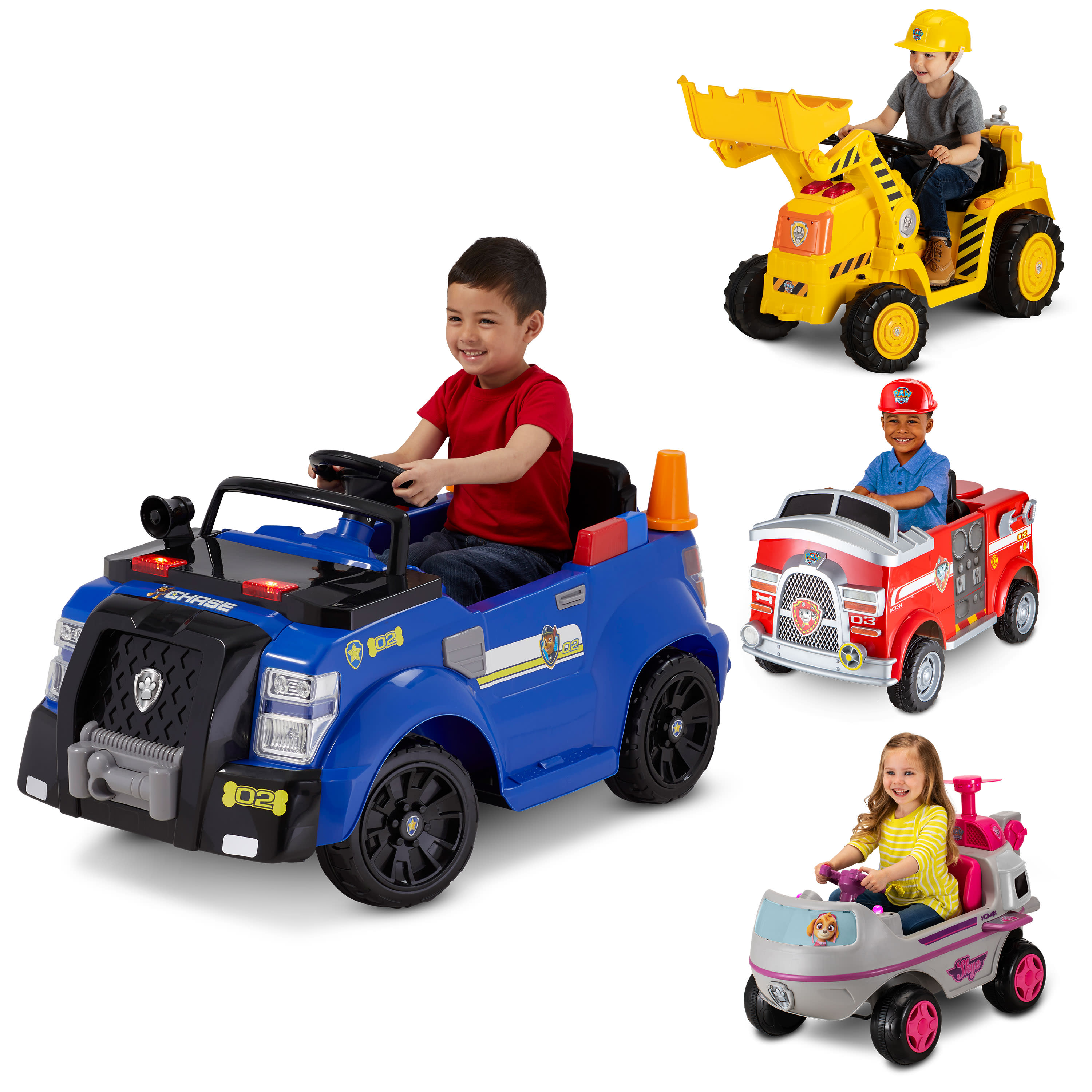 Nickelodeon's PAW Patrol: Chase Police Cruiser, 6-Volt Ride-On Toy by Kid Trax