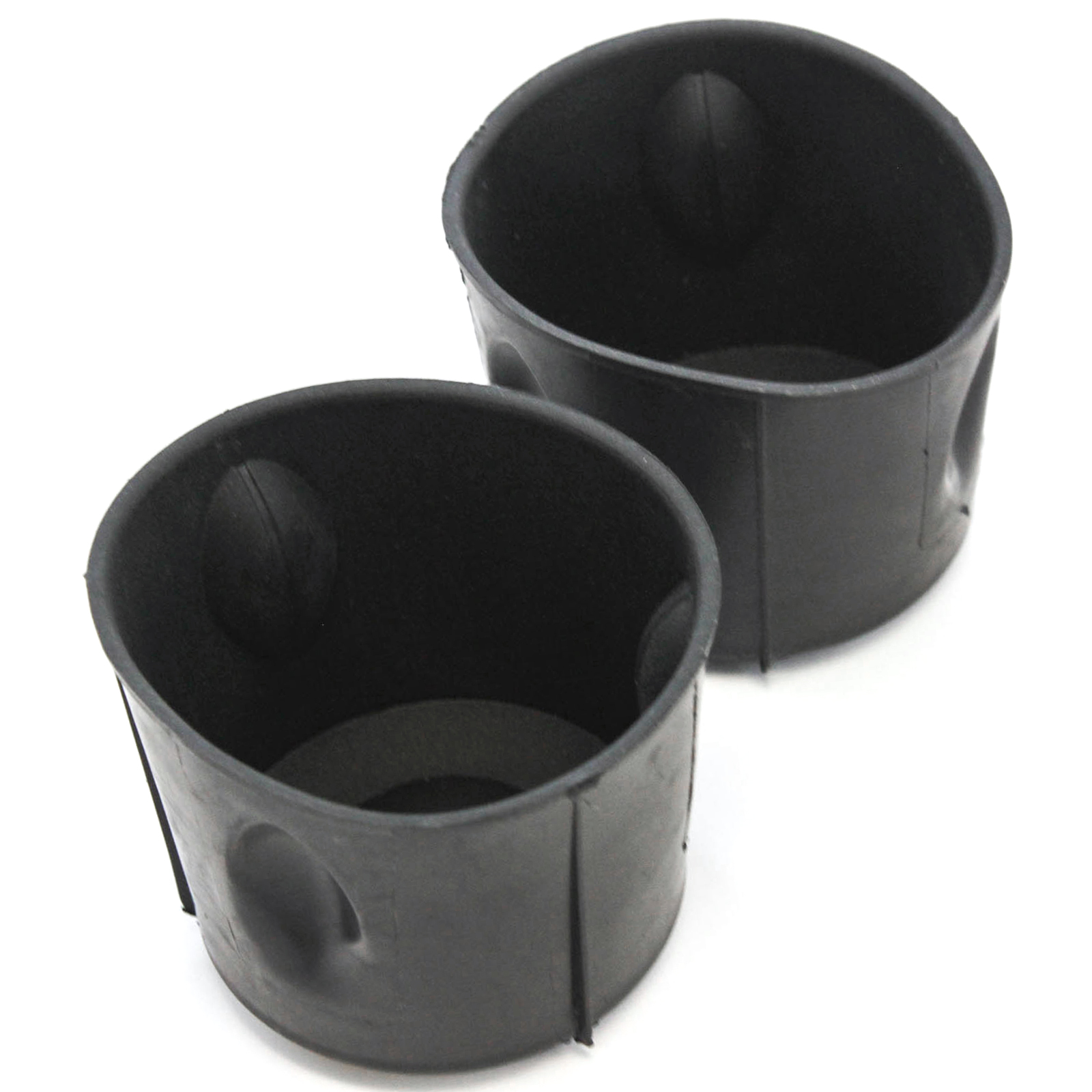 Front 2 Cup Holder Insert Liners 2010-15 fits Kia Optima Front Center Console