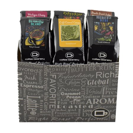 Coffee Sampler Variety Pack Gift Basket
