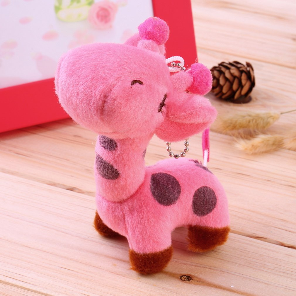 Washable Lovely Cute Kids Child Giraffe Gift Soft Plush Toy Baby Stuffed Animal Doll Very Soft and Comfortable to Touch
