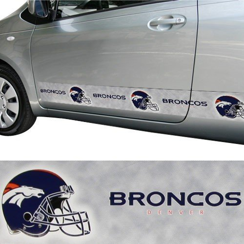 Denver Broncos Car Trim Magnet