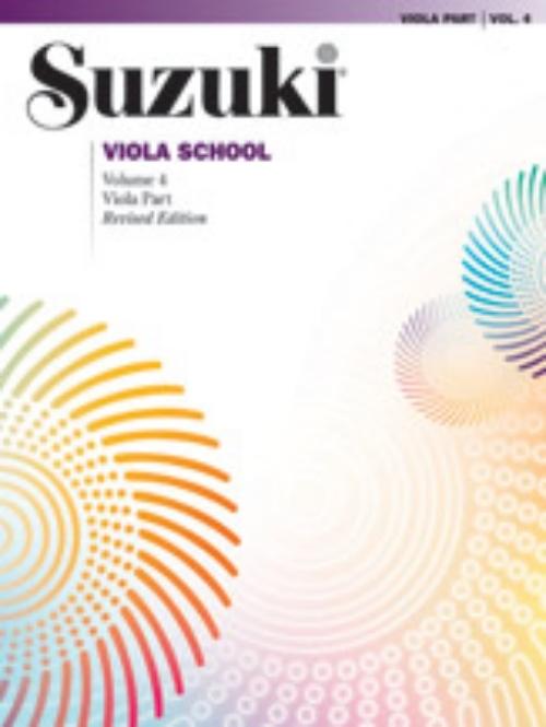 Alfred 00-0244S Suzuki Viola School Viola Part- Volume 4 Music Book by Alfred