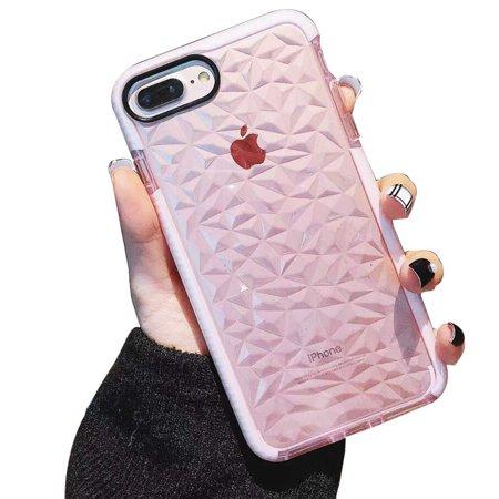 wantflyer iPhone 8/7 Plus Case,iPhone 6/6s Plus Case,Crystal Clear