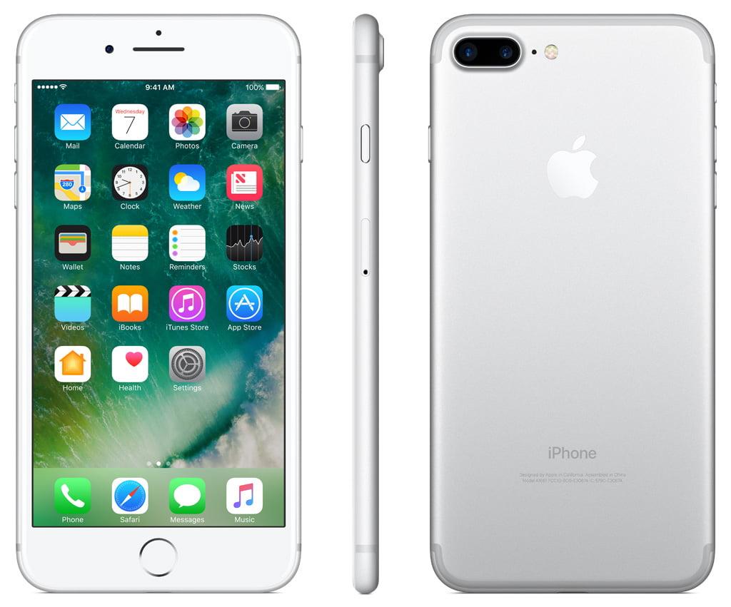 Straight Talk Prepaid Apple iPhone 7 Plus 32GB - Walmart.com