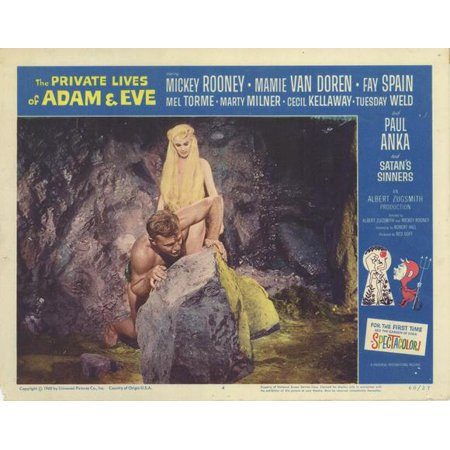 The Private Lives of Adam & Eve POSTER Movie D Mini Promo