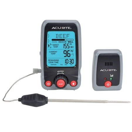 Digital Meat Thermometer   Timer With Pager