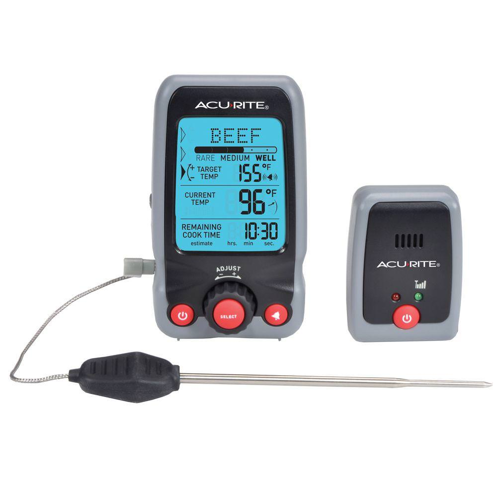 Digital Meat Thermometer & Timer with Pager
