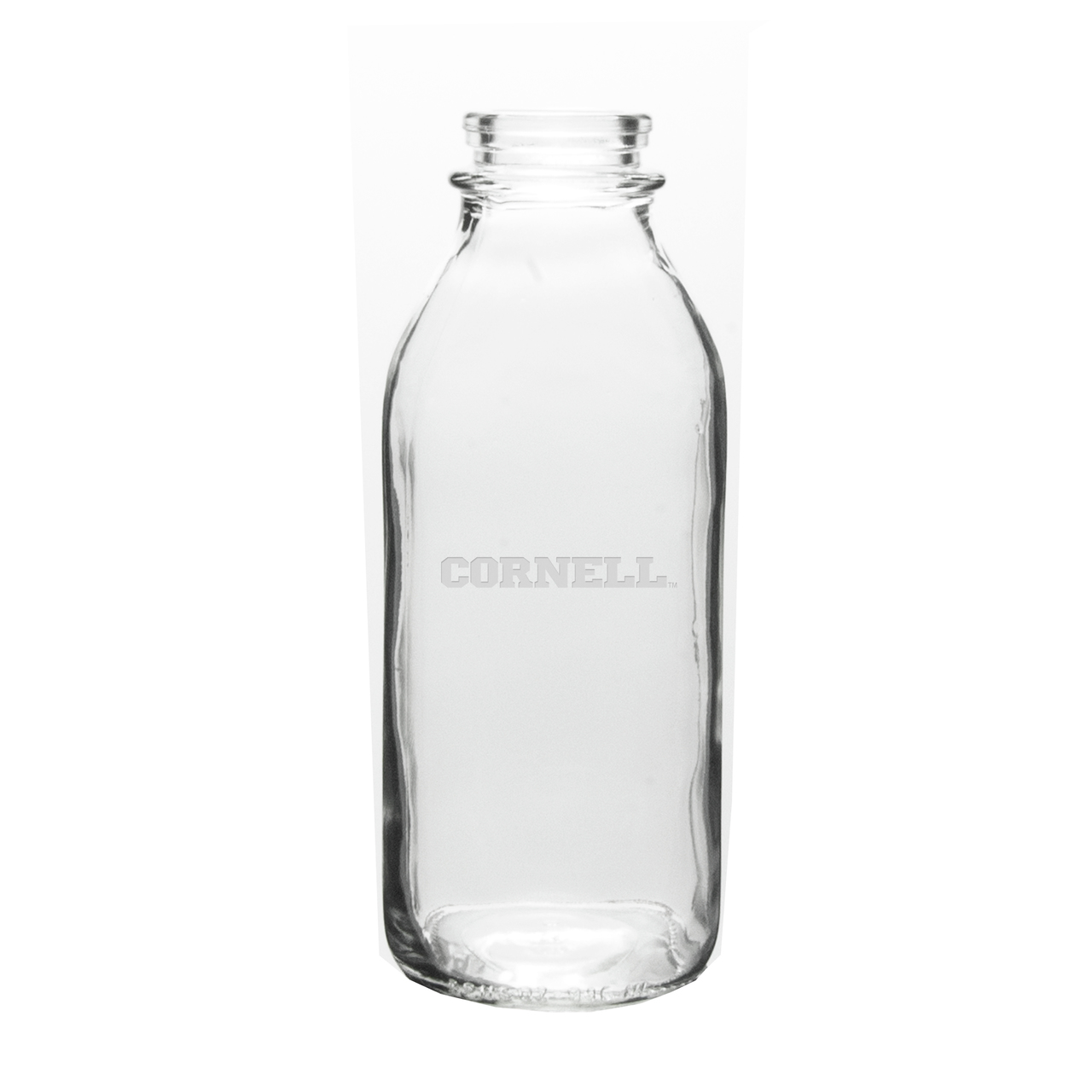 Cornell Big Red 33.5 oz. Deep Etched Milk Bottle by