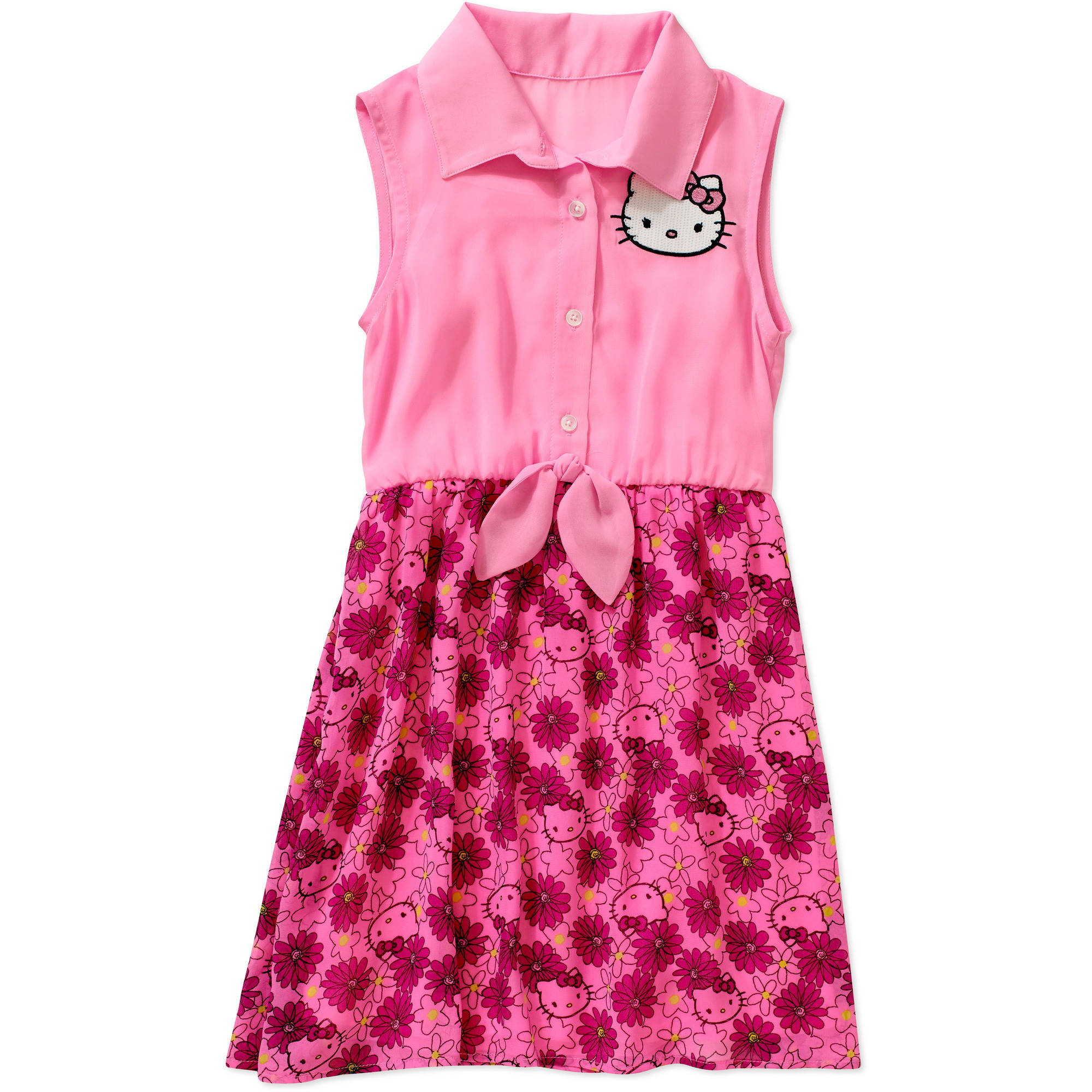 Hello Kitty Girls' Shirt Dress