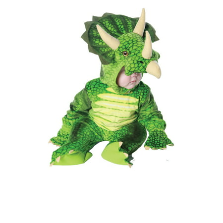 TRICERATOPS boys animal dinosaur kids toddler child halloween costume XL 4-6
