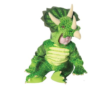 TRICERATOPS boys animal dinosaur kids toddler child halloween costume XL 4-6 - Animal Toddler Costume