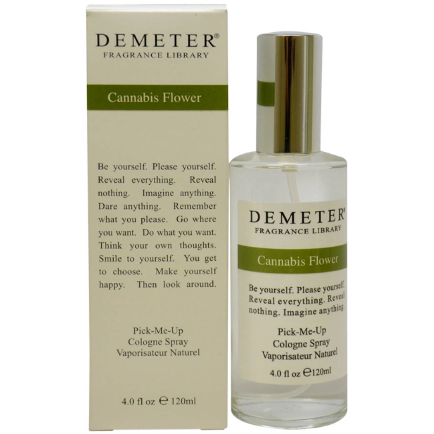 Cannabis Flower by Demeter for Women Cologne Spray, 4 oz