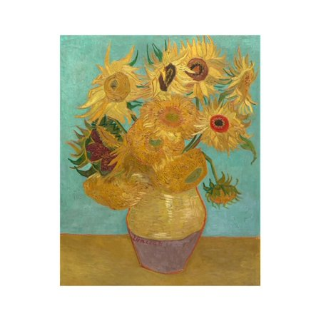 Sunflowers, 1889 Print Wall Art By Vincent van Gogh