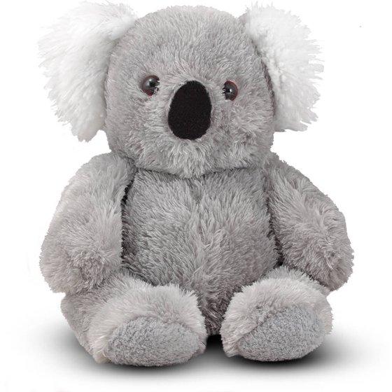 Melissa Doug Sidney Koala Bear Stuffed Animal Walmart Com