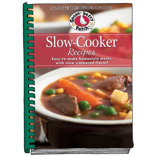 Slow Cooker Cookbook: Easy-to-make Homestyle Meals With Slow-simmered Flavor!