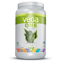 Vega One Organic All-in-One Plant Protein Powder, Unsweetened, 20g Protein, 1.7lb 26.9oz