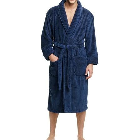 Hanes Men's Cozy Fleece Robe
