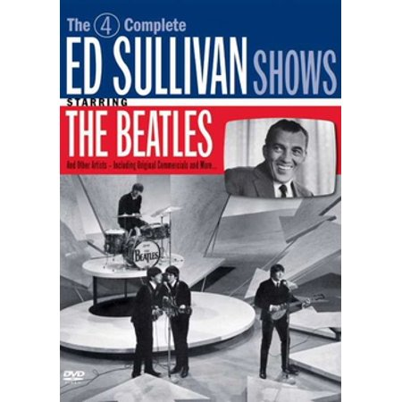 Image of The Complete Ed Sullivan Shows Featuring The Beatles (DVD)