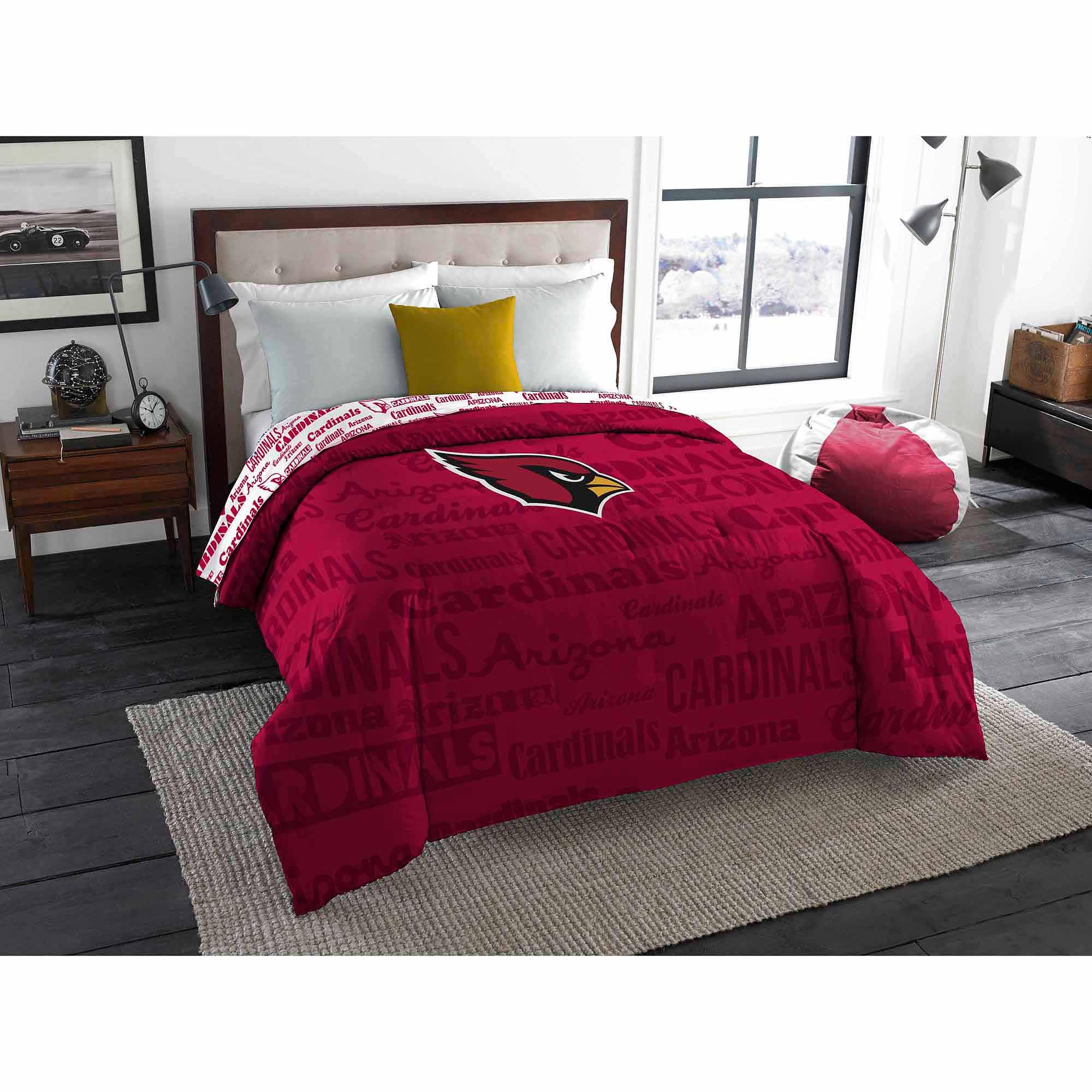 NFL Arizona Cardinals Twin/Full Bedding Comforter
