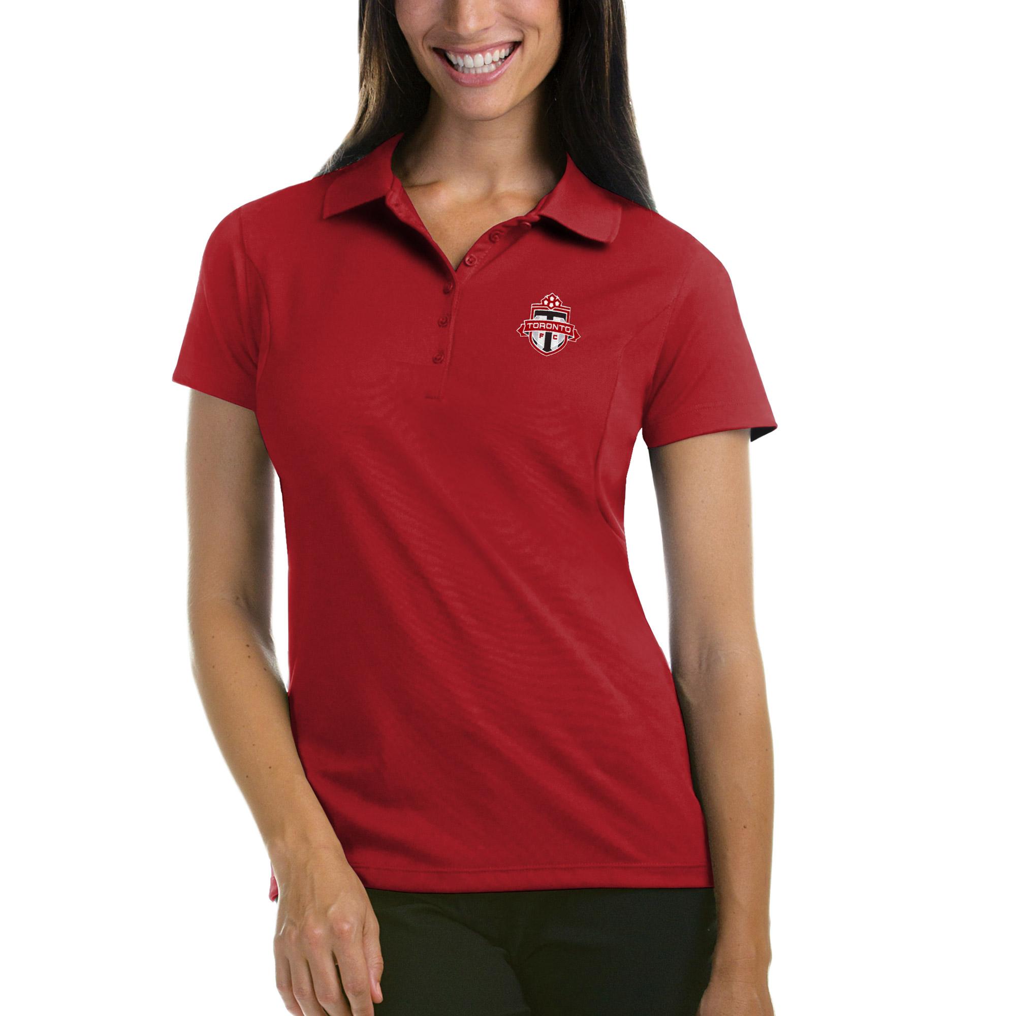 Toronto FC Antigua Women's Pique Desert Dry Xtra-Lite Polo - Red