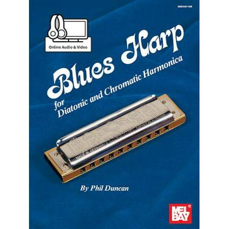 Blues Harp - Diatonic & Chromatic Harmonica (Hurricane Harps Hot House Blues Harmonica Set)