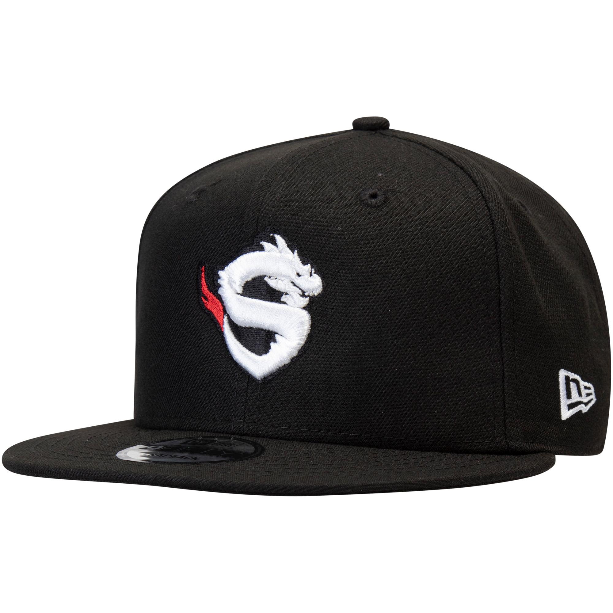 Shanghai Dragons Overwatch League New Era Solid Team Adjustable Snapback Hat - Black - OSFA