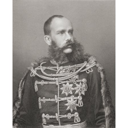 Franz Joseph I Or Francis Joseph I 1830 To 1916 Emperor Of Austria King Of Bohemia And Apostolic King Of Hungary From The Age We Live In A History Of The Nineteenth Century Canvas Art - Ken Welsh Des
