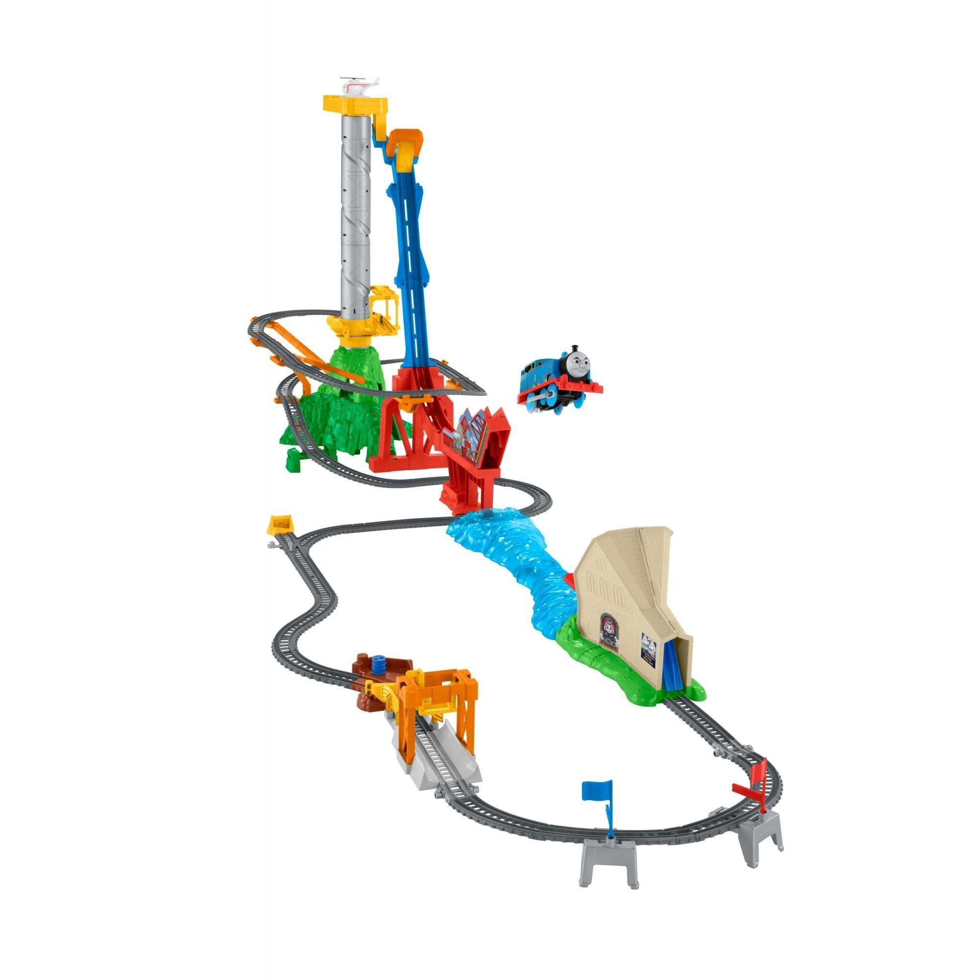Fisher Price Thomas & Friends TrackMaster Thomas' Sky-High Bridge Jump Train by Thomas %26 Friends