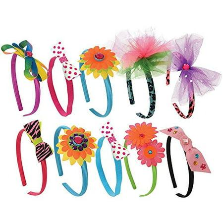 Kangaroo's Girls Toys; Kids Fashion Headbands Kit. 134 - Kangaroo Craft