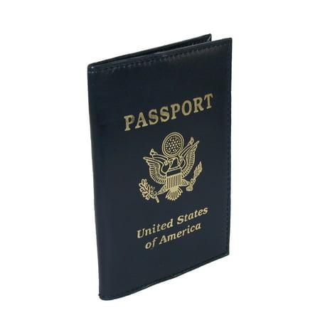 CTM Leather Travel Passport Cover - image 2 de 2