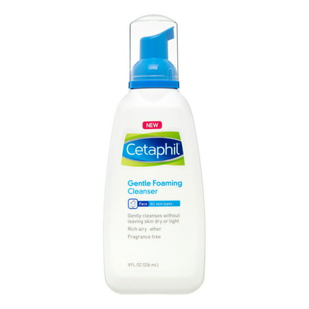 Cetaphil Gentle Foaming Cleanser, Face Wash for Sensitive and All Skin Types, 8