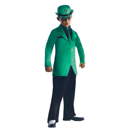 Child Male The Riddler Batman Costume by Rubies 881773