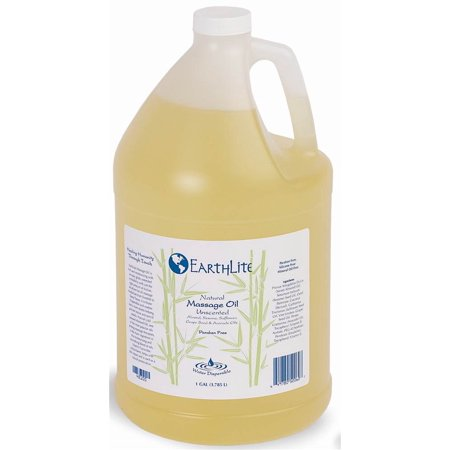 One Gallon Natural Unscented Silicone Free Massage Oil