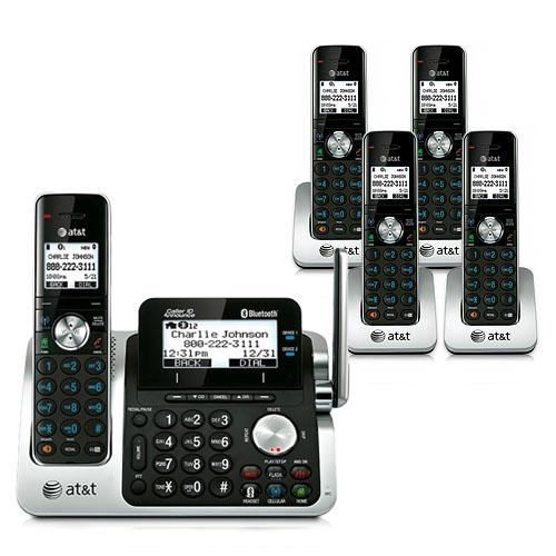 AT&T TL96571 Cordless Phone System by
