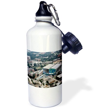 3dRose Summer Olympics Georgia Tech Aquatic Center 1996 , Sports Water Bottle, (Aquatic Center)