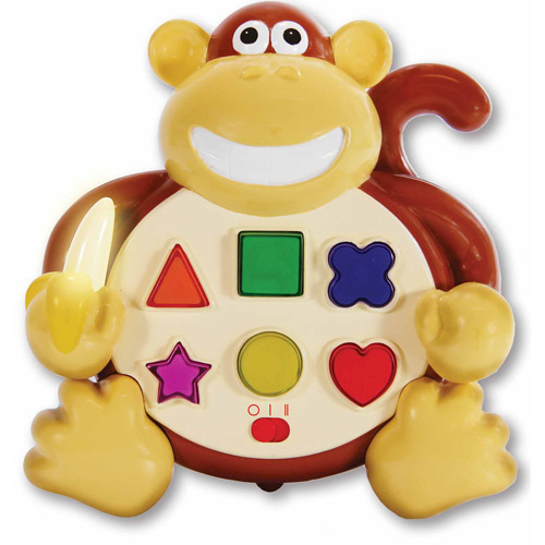 The Learning Journey Early Learning Colors and Shapes Monkey