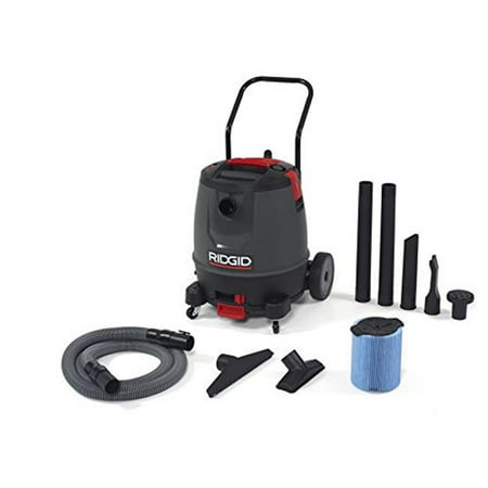 Ridgid 632-50338 Wet & Dry Vacuum, Red - 16