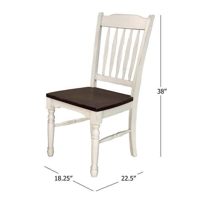 Bluff Point Dining Chair 2 Pack Walmart Com Walmart Com
