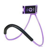 Universal 360 degree Rotation Flexible Lazy Phone Bracket For iPhone Android, Phone Selfie Snake-like Neck Bed Mount Anti-skid Phone Bracket(Green)