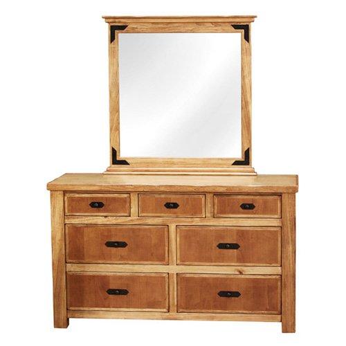 Lodge Dresser with Optional Mirror