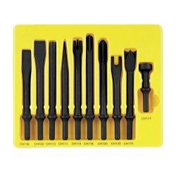 10PC GENERAL SERVICE CHISEL SET 401 SHANK