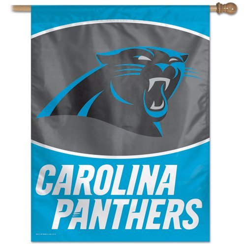 NFL Carolina Panthers 27-by-37-Inch Vertical Flag