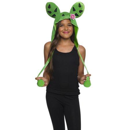 Tokidoki Girls Sandy Cactus Hood Halloween Costume Accessory