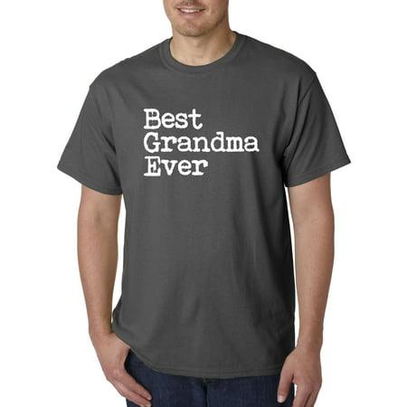 4d91977e Trendy USA - Trendy USA 1080 - Unisex T-Shirt Best Grandma Ever Family  Humor 4XL Charcoal - Walmart.com