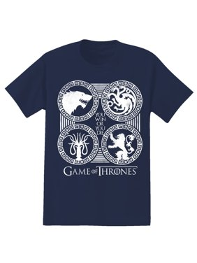 d7c10e0d Product Image Game of Thrones 4 Sigil Men's Graphic Tee, up to size 2XL