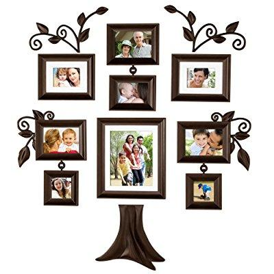 family tree 9-piece family tree collection picture frames