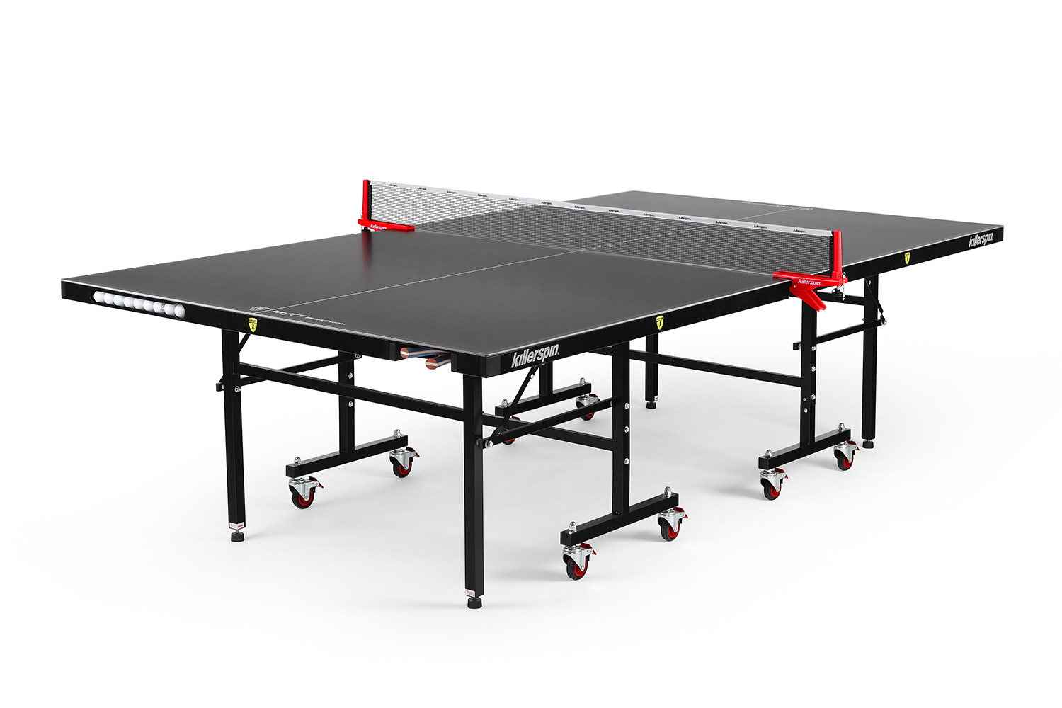 """Killerspin MyT7 BlackStorm, ITTF Official Size, Folding Outdoor, Tennis Table, 9' x 5' x 2.5"""" by Supplier Generic"""